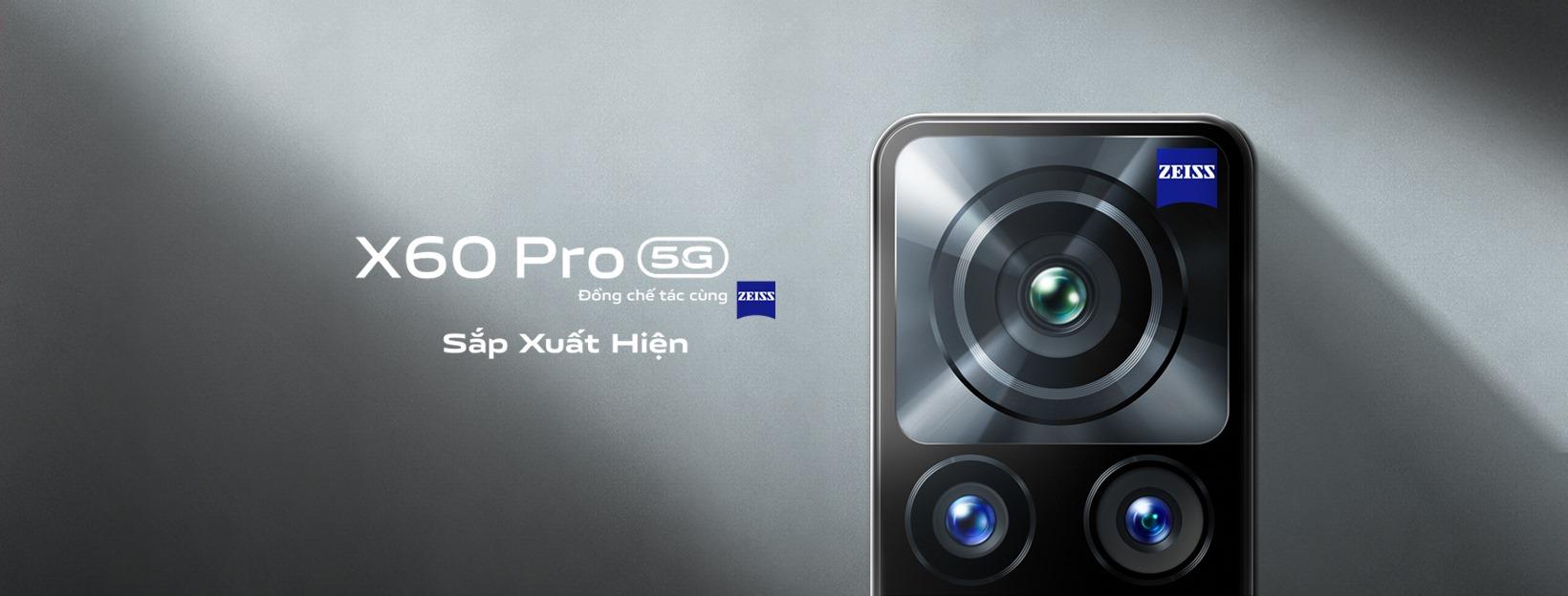 vivo X60 Pro với camera được đồng chế tác cùng ZEISS sẽ ra mắt vào đầu tháng 4. (xin ảnh bỏ text)