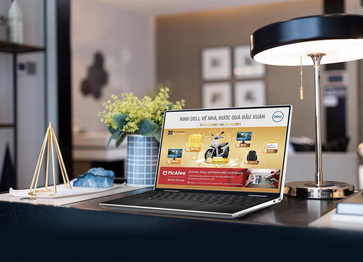 Dell dựa trên nền tảng Intel Evo mang vào XPS 13 inch 2 in 1 sự kết hợp giữa hiệu suất, khả năng phản hồi, tuổi thọ pin cùng dáng vẻ thời thượng của dòng máy tính xách tay thời trang