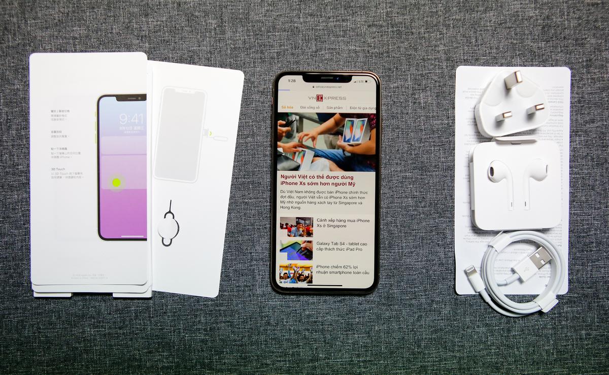 iPhone XS và iPhone XS Max ra mắt năm 2018. Ảnh: Huy Đức