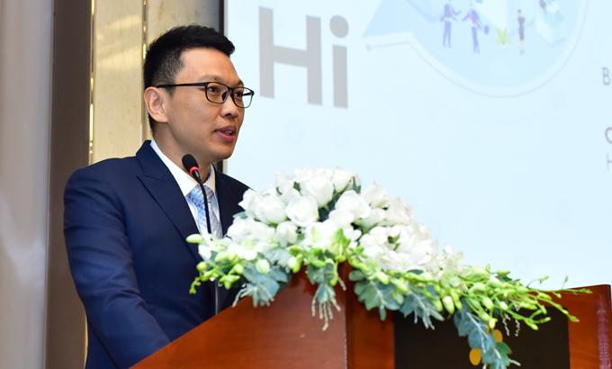 Ông Sun Bohan, Tổng giám đốc Huawei Việt Nam.
