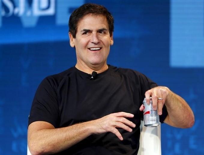 Tỷ phú Mark Cuban trong một sự kiện tại California (Mỹ). Ảnh: Reuters.