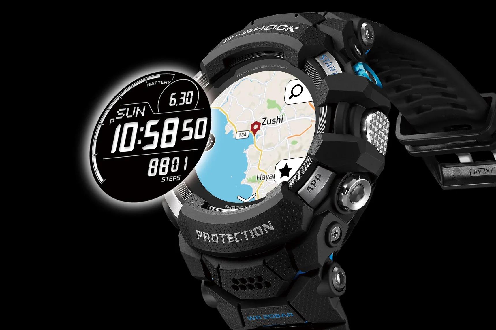 Smartwatch G-Shock của Casio có thể là đối thủ đáng gờm cho Apple Watch siêu bển. Ảnh: Casio