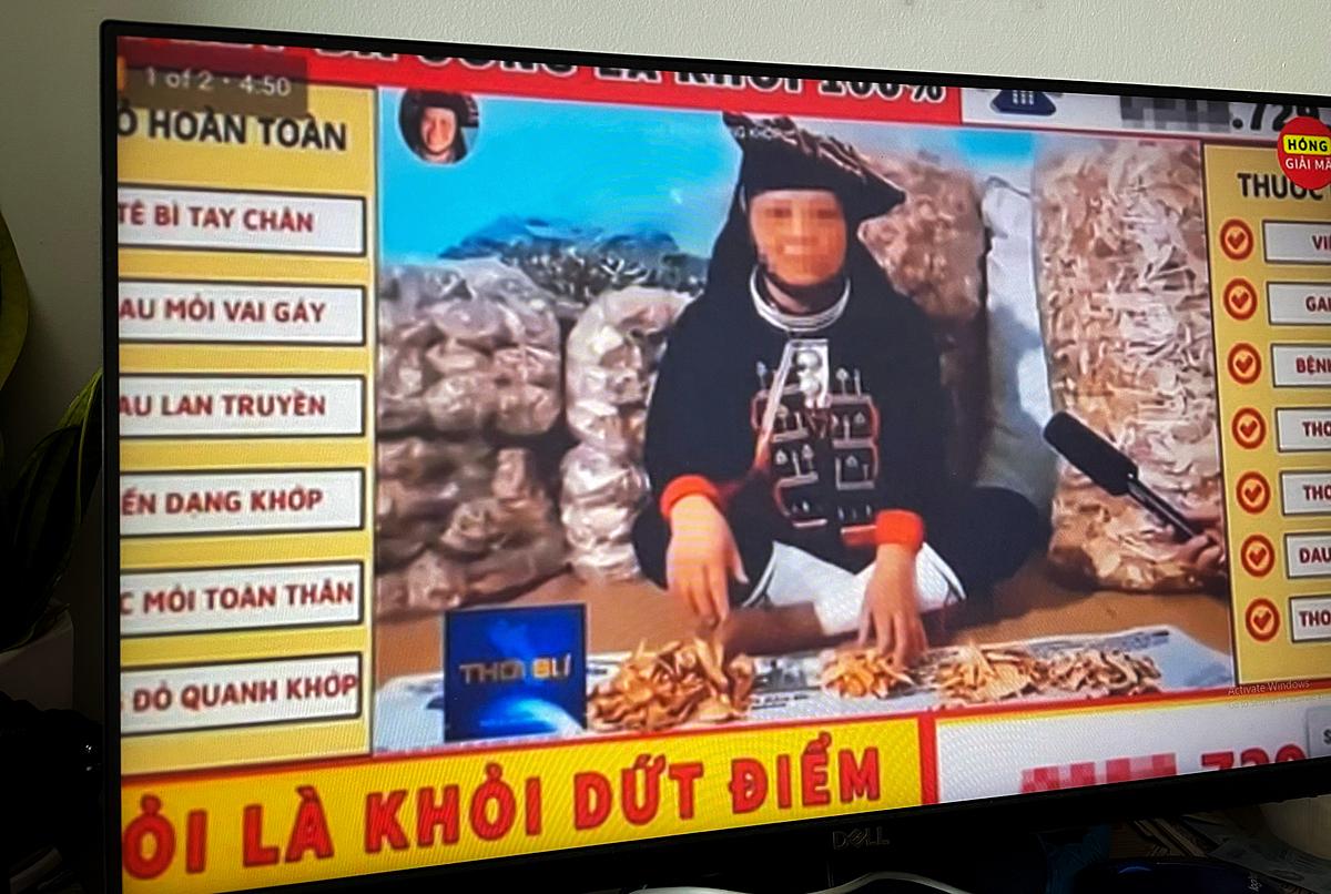 Quảng cáo thuốc xuất hiện trên YouTube tại Việt Nam.