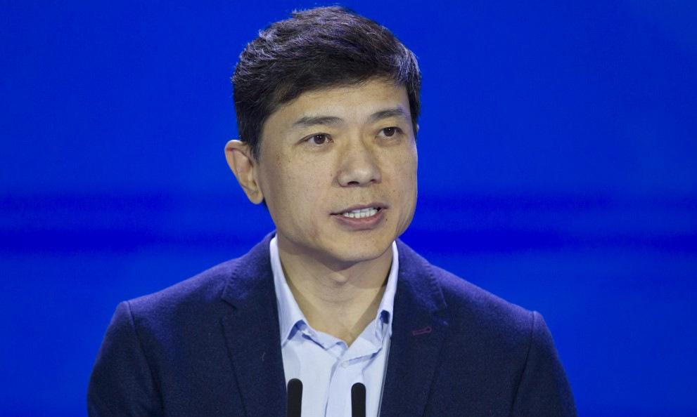 Robin Li tại hội thảo WAIC ở Thượng Hải năm 2018. Ảnh: AFP.