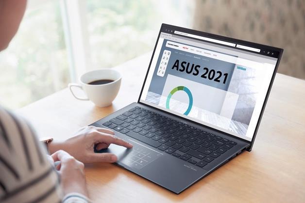 Asus ZenBook 14 UX435 còn trang bị công nghệ khử nhiễu âm thanh tích hợp AI.