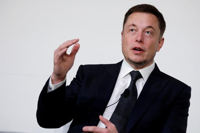 Elon Musk tại hội thảo về trạm không gian vũ trụ ở Washington năm 2017. Ảnh: Reuters.