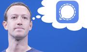 Mark Zuckerberg dùng Signal