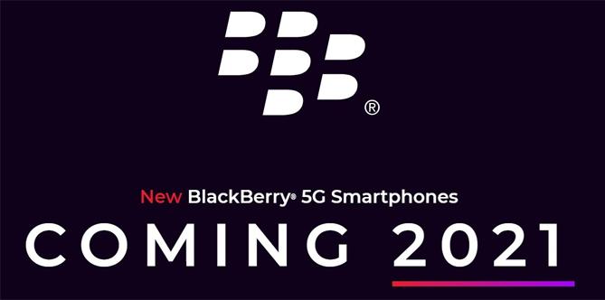 OnwardMobility hé lộ smartphone BlackBerry 5G mới hồi đầu năm.