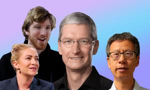 Những CEO công nghệ lần đầu lọt top tỷ phú