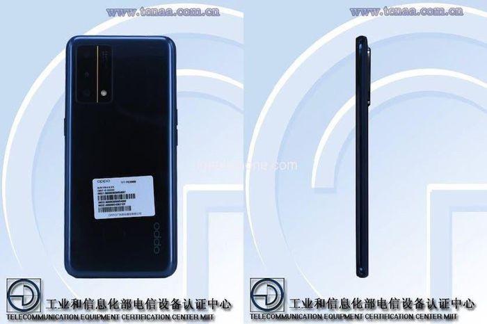 Smartphone được cho là Oppo Reno 6 được công bố trên trang web của Bộ Công nghiệp và Công nghệ thông tin Trung Quốc.