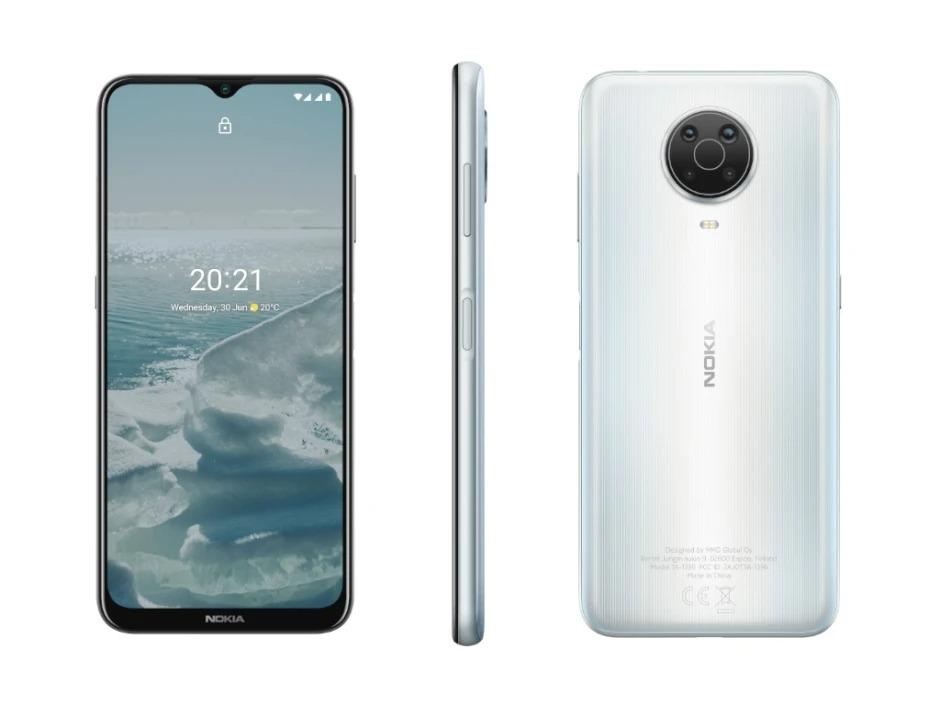 G20 mẫu smartphone có thời lượng pin cao nhất của Nokia.