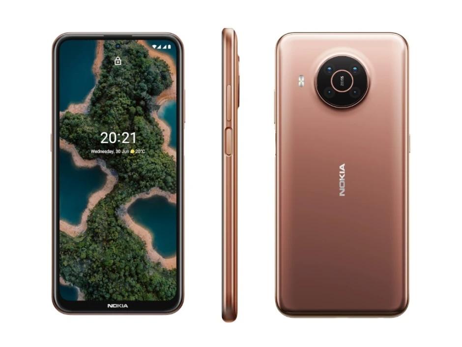 Kết nối 5G, camera ống kính Zeiss là ưu điểm của dòng Nokia X.