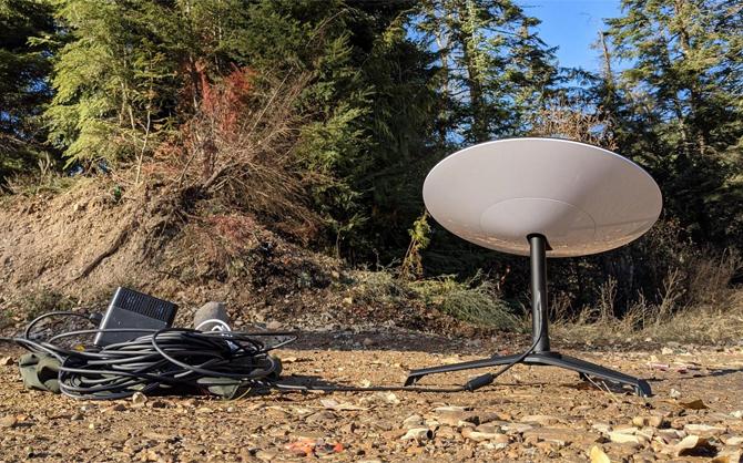 Dịch vụ Internet từ vệ tinh cần thiết bị thu với chi phí không rẻ.