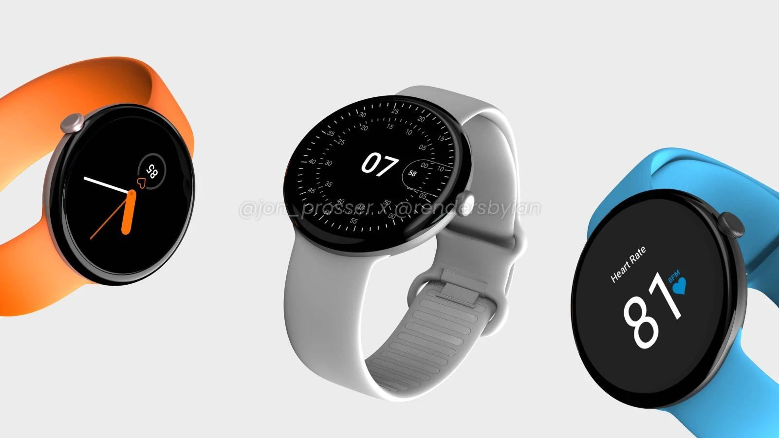Pixel Watch được Google kiểm soát cả phần cứng  và phần mềm giống Apple. Ảnh: Jon Prosser