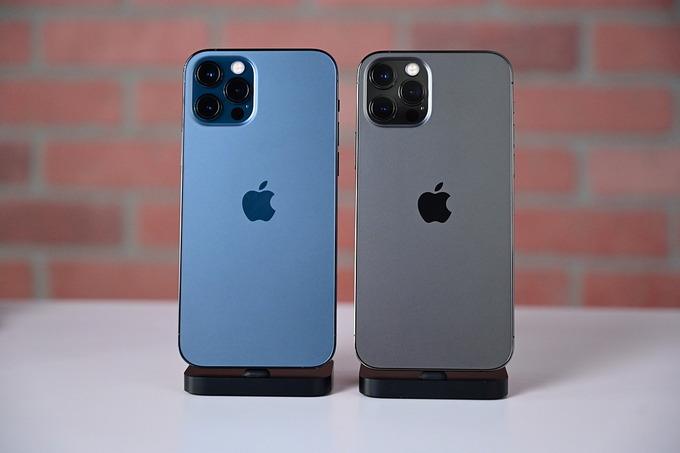 iPhone 12 Pro Max. Ảnh: Phonearena.