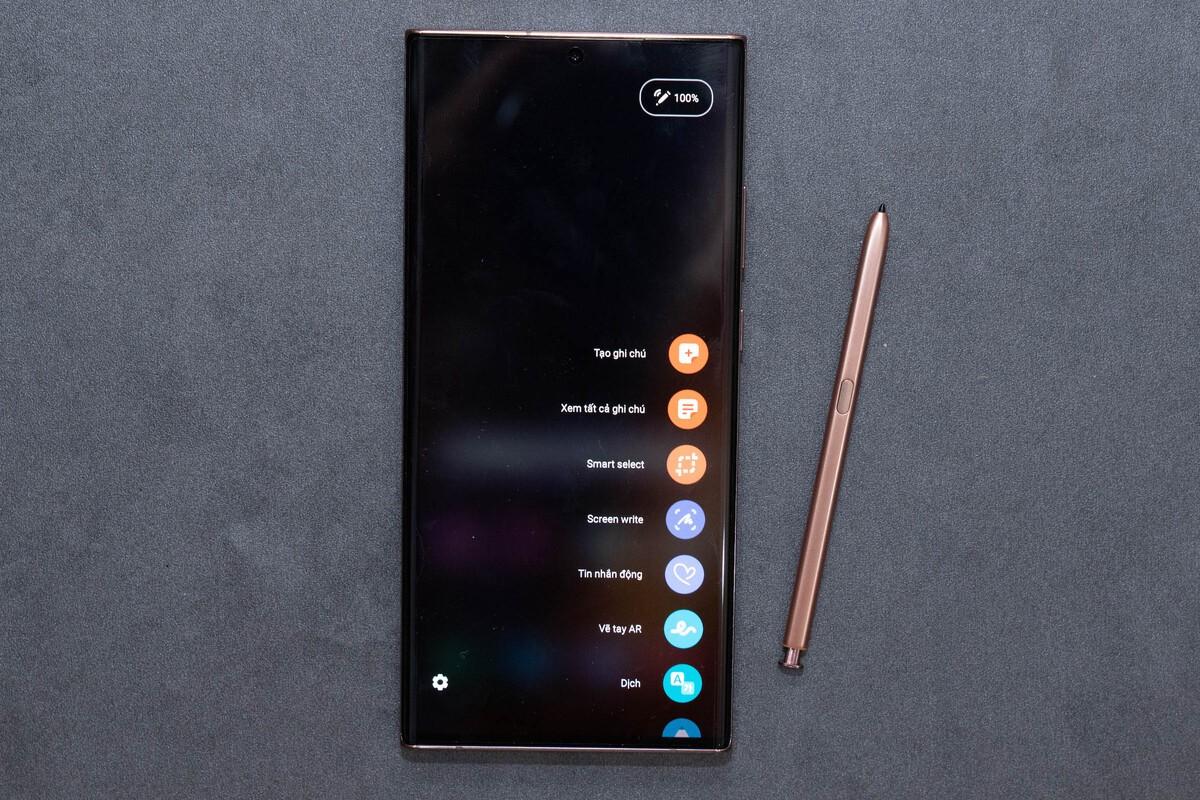 Galaxy Note20 Ultra. Ảnh: Huy Đức.