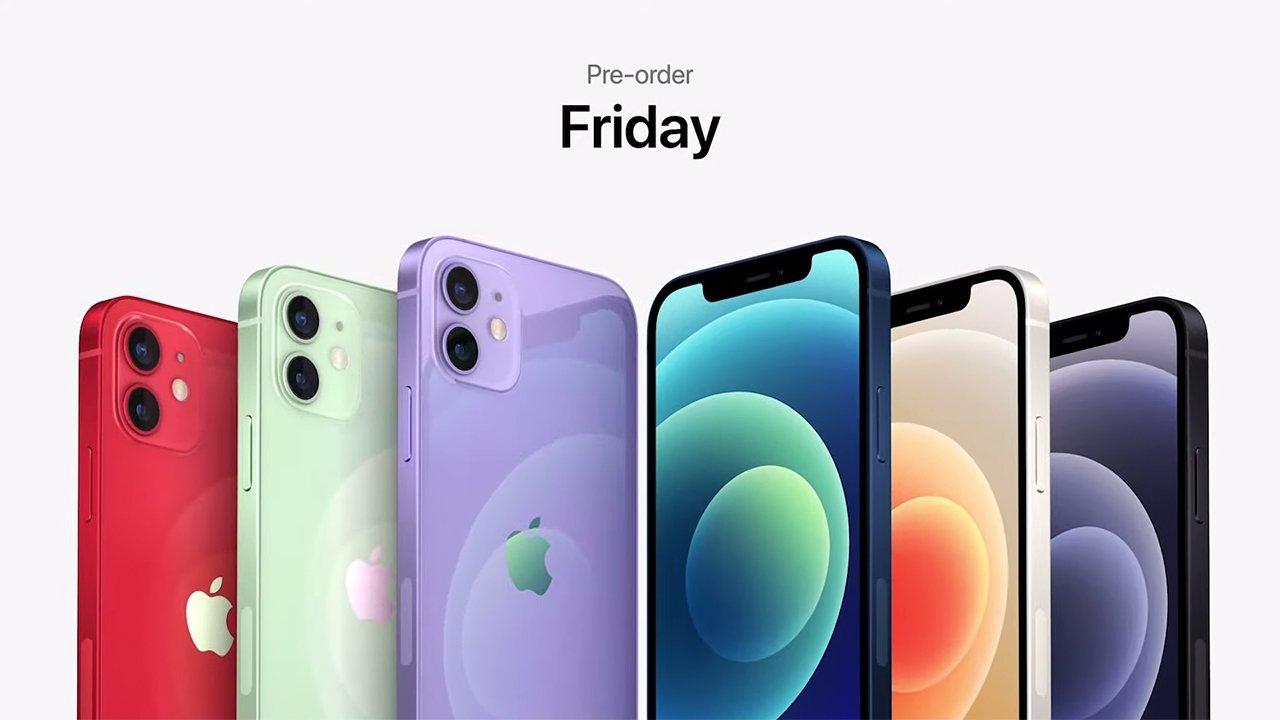 Loạt iPhone 12 và 12 mini được bổ sung màu tím.