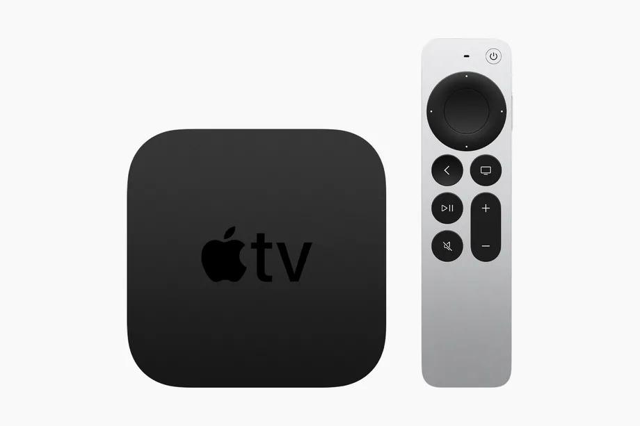 Apple TV 4K mới không có nhiều thay đổi về thiết kế, ngoại trừ điều khiển từ xa được làm mới.