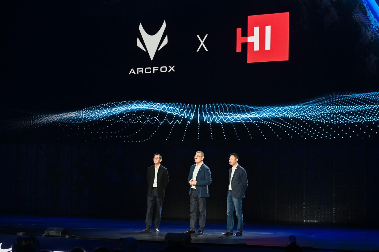Linh kiện cho xe thông minh Huawei Inside ra mắt