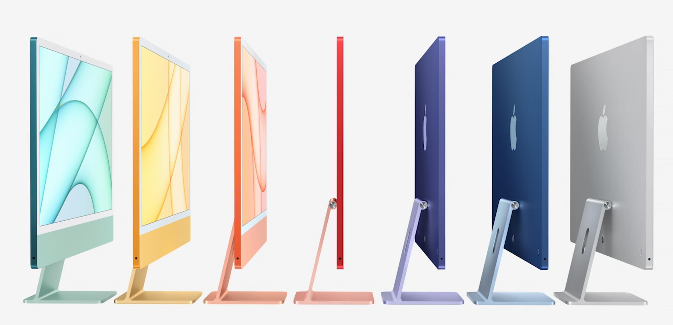 Apple ra iMac nhiều màu, iPad Pro chip M1 và loạt sản phẩm mới