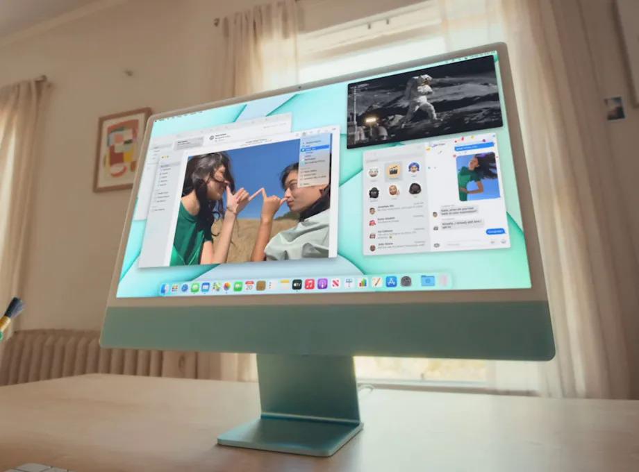 iMac dùng chip M1 giá thấp nhất 35 triệu đồng