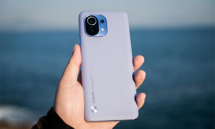 Xiaomi Mi 11. Ảnh: Gizmochina