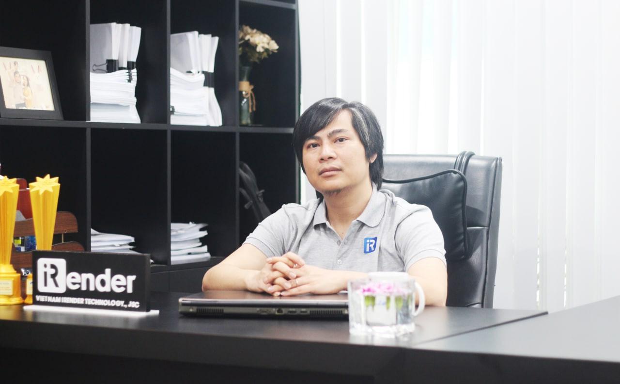 Anh Lê Quang Hiếu - CEO của iRender Việt Nam.