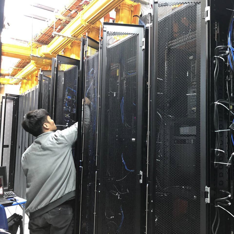 Data center tiêu chuẩn Tier III của iRender Việt Nam.