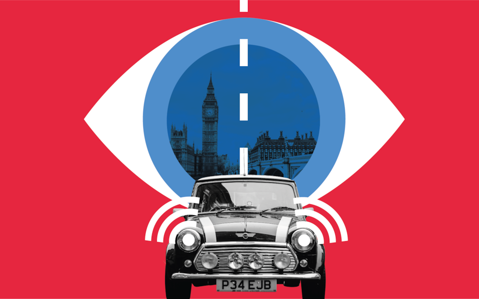 Xe tự lái sẽ được trang bị camera để theo dõi độ tập trung của tài xế. Ảnh: Telegraph.