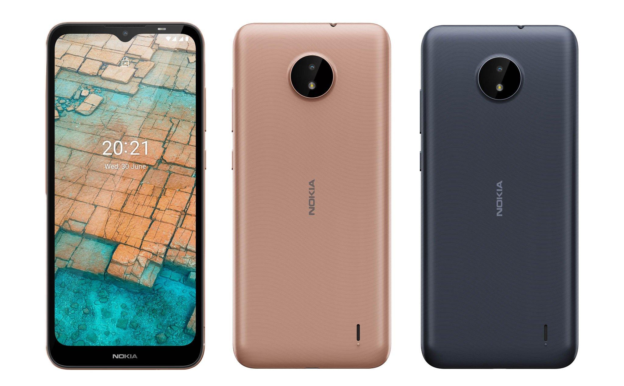Nokia C20 hướng đến người dùng chuyển từ điện thoại phổ thông sang smartphone.