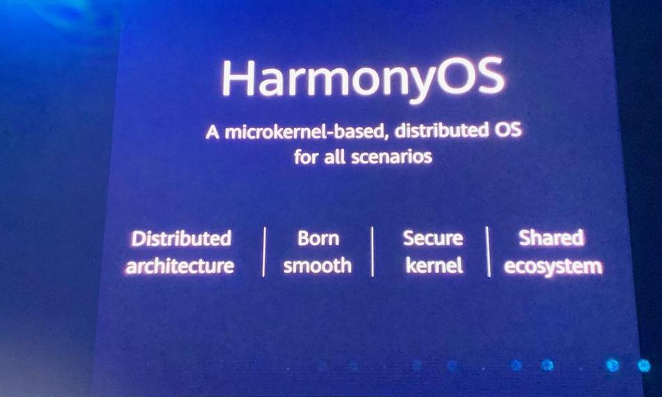 HarmonyOS ra mắt hồi nă m2019. Ảnh: Forbes.