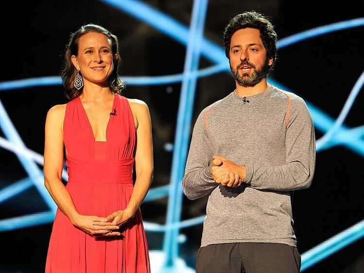 Sergey Brin - Anne Wojcicki trong một sự kiện vào năm 2014. Ảnh: Business Insider.