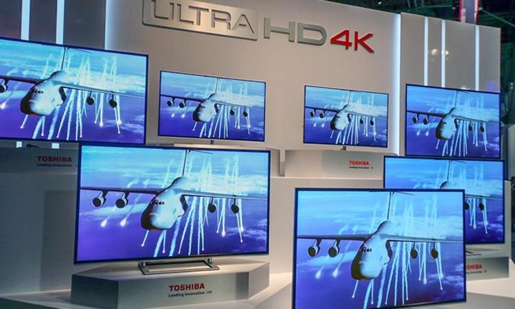 Toshiba đã dừng bán TV ở Việt Nam. Ảnh: Channelnews