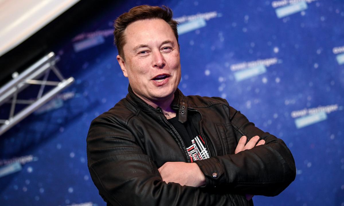 Elon Musk trong một sự kiện ở Berlin, Đức, hồi cuối năm 2020. Ảnh: AFP.