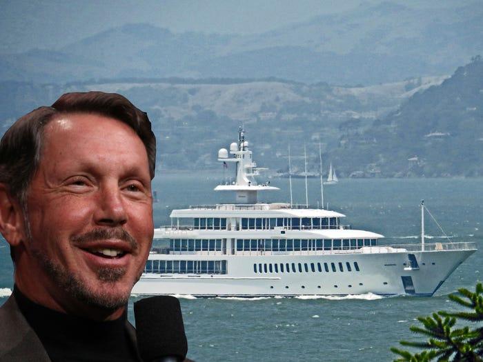 Những tỷ phú công nghệ sở hữu du thuyền triệu USD - 1