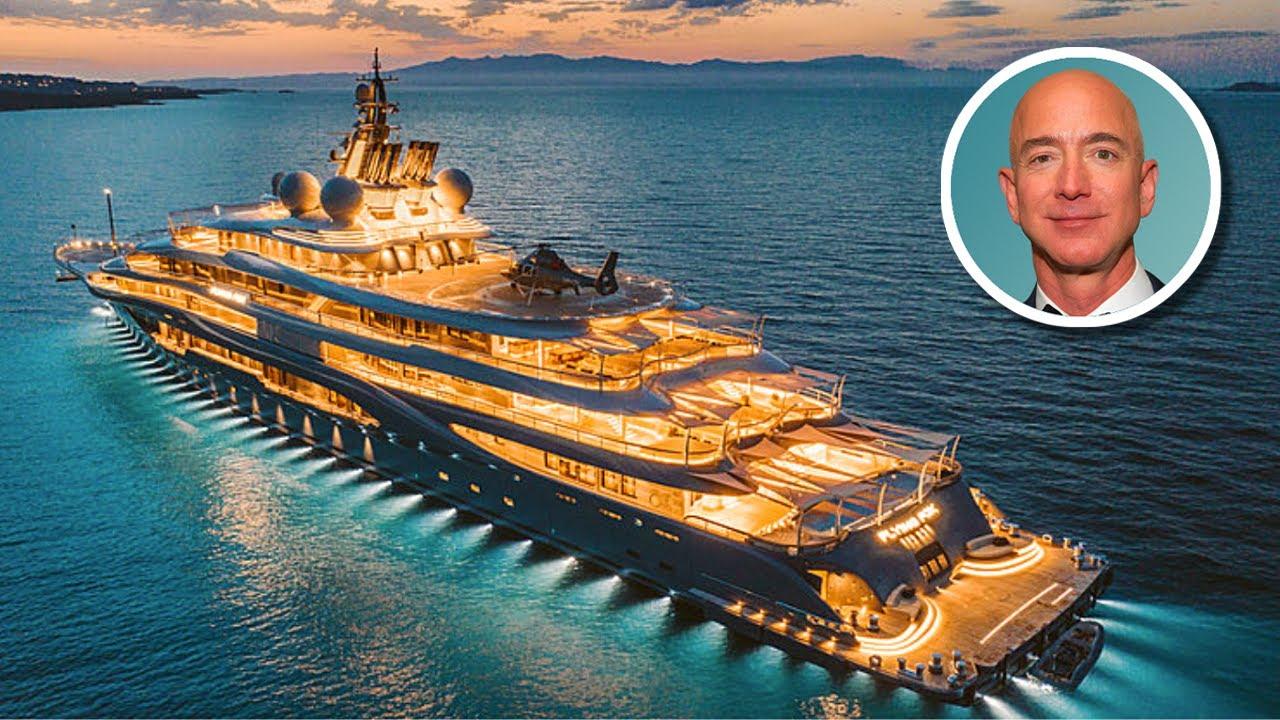 Những tỷ phú công nghệ sở hữu du thuyền triệu USD