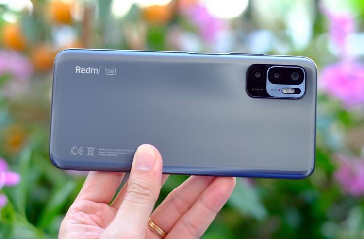 Redmi Note 10 phiên bản mới có thêm kết nối 5G. Ảnh: Tuấn Hưng