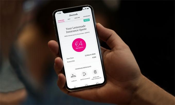 Lemonade thu hút nhà đầu tư nhờ ứng dụng AI trong bảo hiểm, nhưng lại đang bị tai tiếng vì AI. Ảnh: Business Wire.