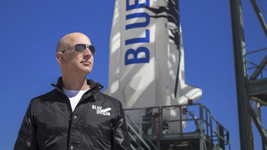 Jeff Bezos sẽ tham gia chuyến bay vào vũ trụ do Blue Origin thực hiện. Ảnh: Blue Origin.