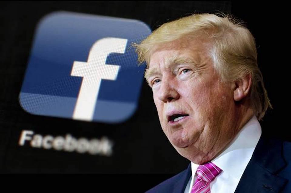 Trump nói rằng đáng lẽ ông đã cấm Facebook khi còn làm Tổng thống. Ảnh: Medium.