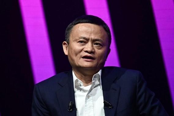 Tỷ phú Jack Ma. Ảnh: AFP.