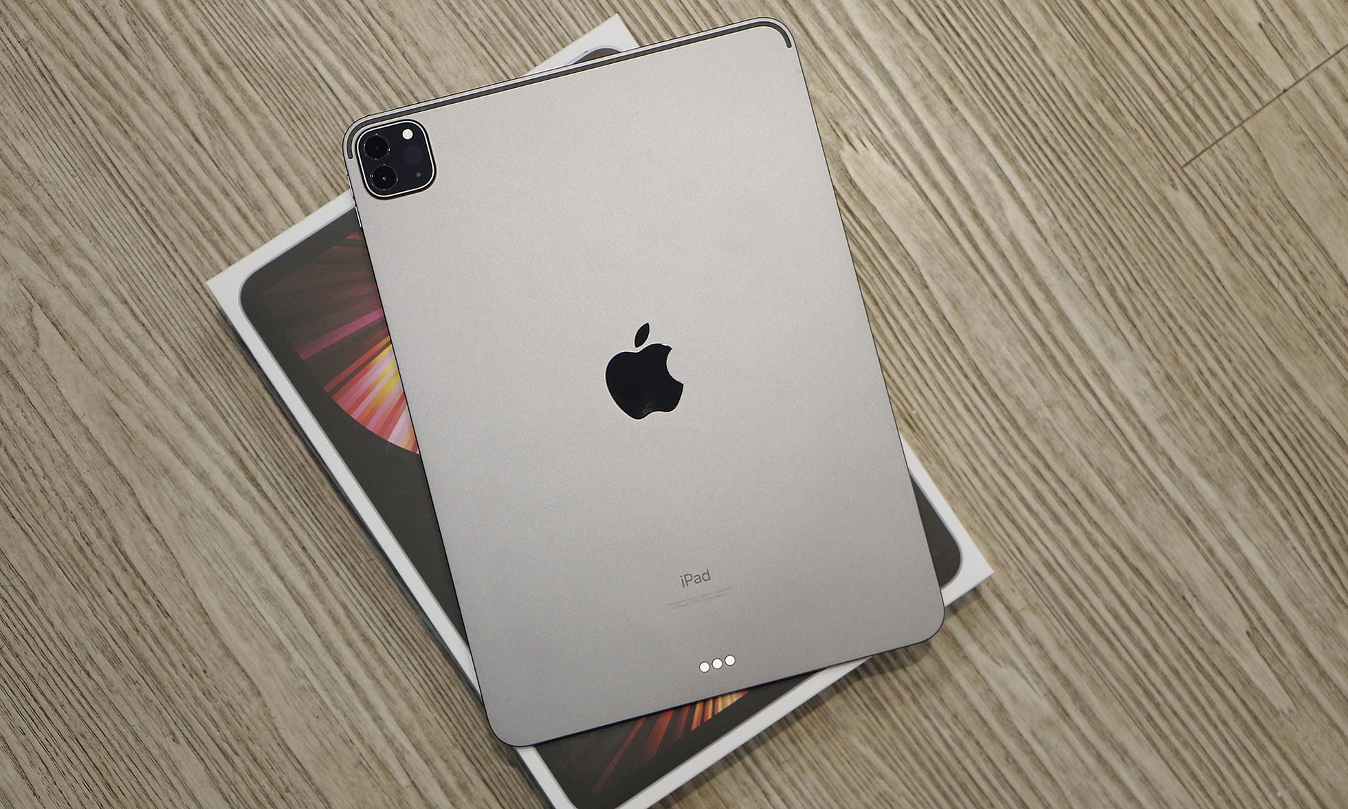iPad Pro M1 chính hãng về Việt Nam hôm 7/6.