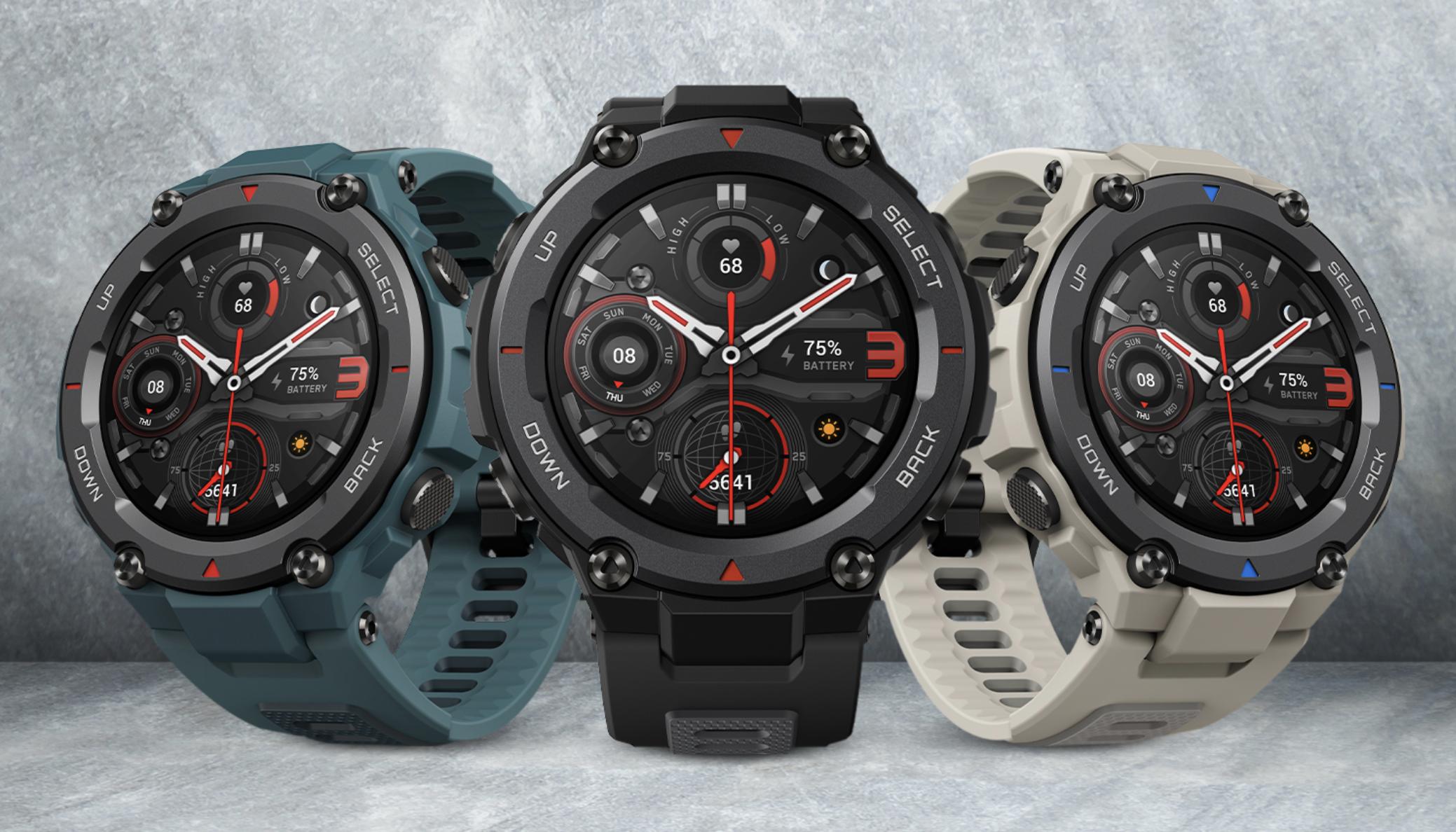 T-Rex Pro thích hợp cho những người chơi thể thao chuyên nghiệp cần smartwatch có độ bền cao.