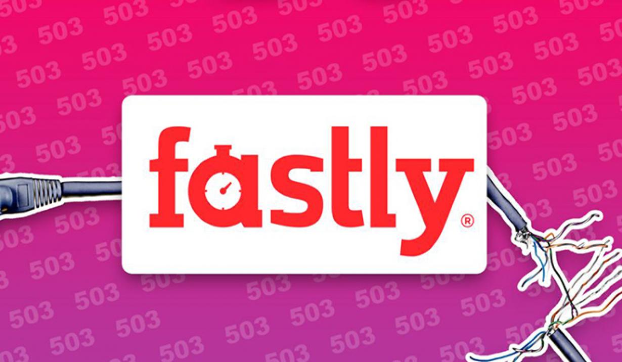 Sự cố của Fastly khiến hàng loạt website lớn trên toàn cầu không thể truy cập. Ảnh: Mirror.