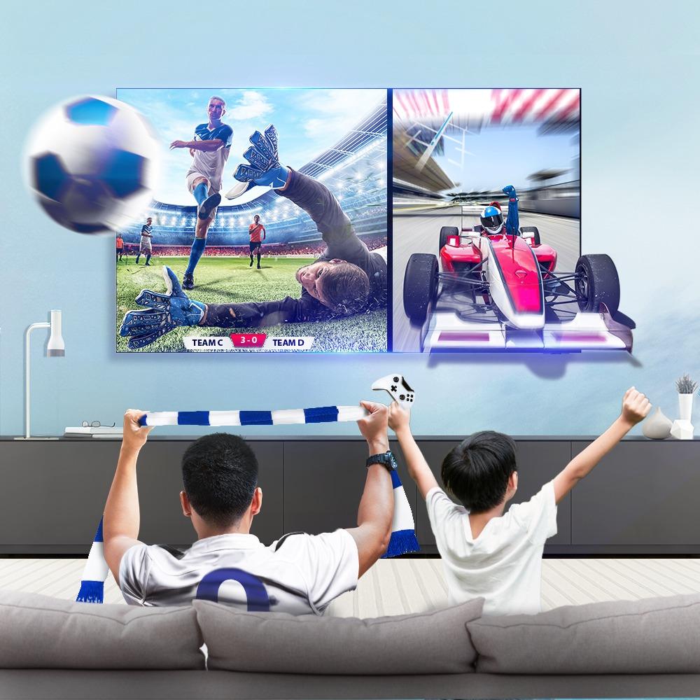 Tính năng Multi View giúp bạn có thể xem nhiều nội dung khác nhau cùng lúc.