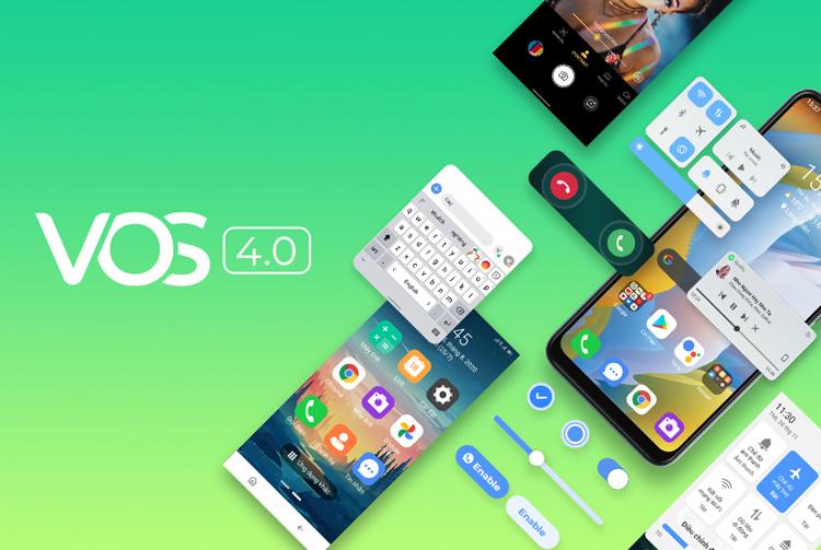 VOS 4.0 hoàn toàn mới dựa trên Android 11.