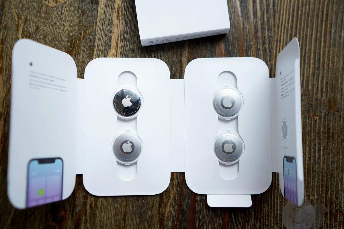 AirTag loại hộp 4 chiếc được nhiều người chọn mua chung để có giá rẻ hơn.