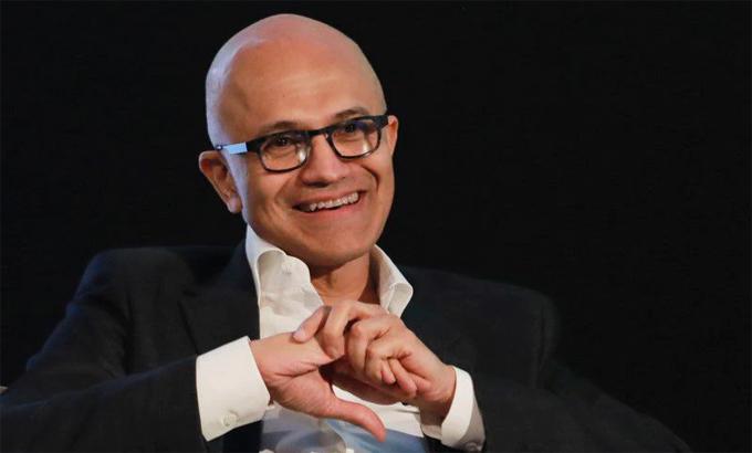 Satya Nadella, Giám đốc điều hành kiêm Chủ tịch Microsoft. Ảnh: Reuters.