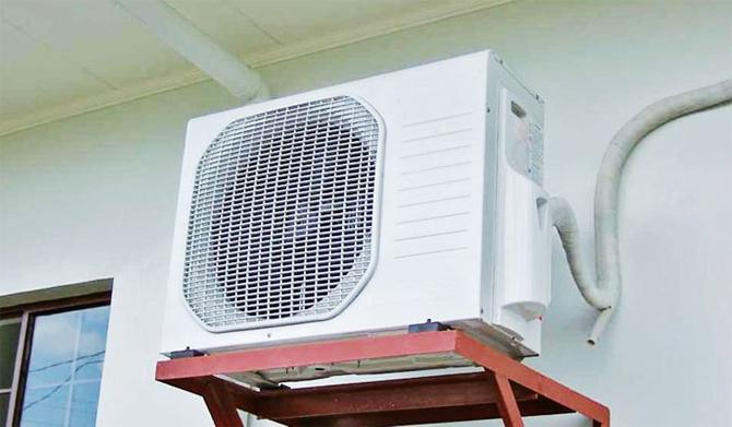 Máy nén hoạt động hết công suất để đạt nhiệt độ cần thiết. Ảnh: EVN