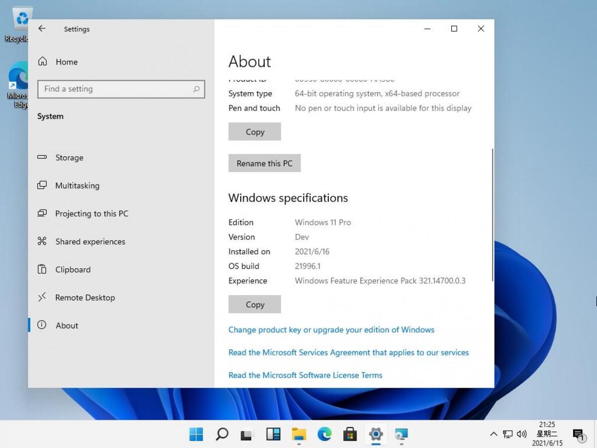 Phiên bản Windows 11 Pro cho lập trình viên.